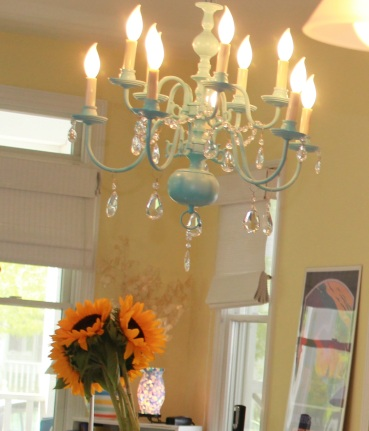 DIY Chandelier for $30 | How-to-tips on https://theartesianproject.wordpress.com/