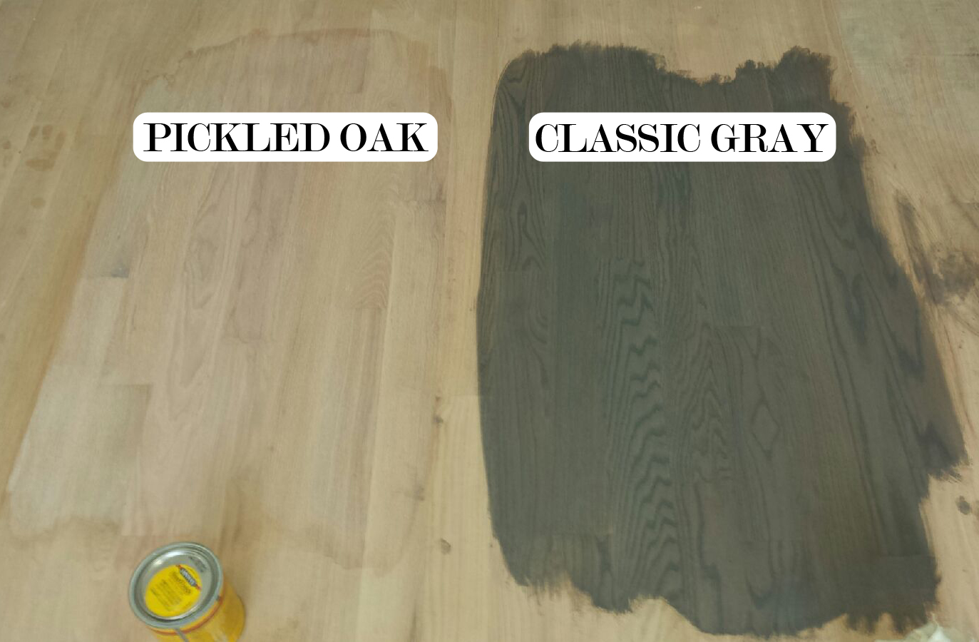 Minwax Charcoal Grey Staind The Artesian Project