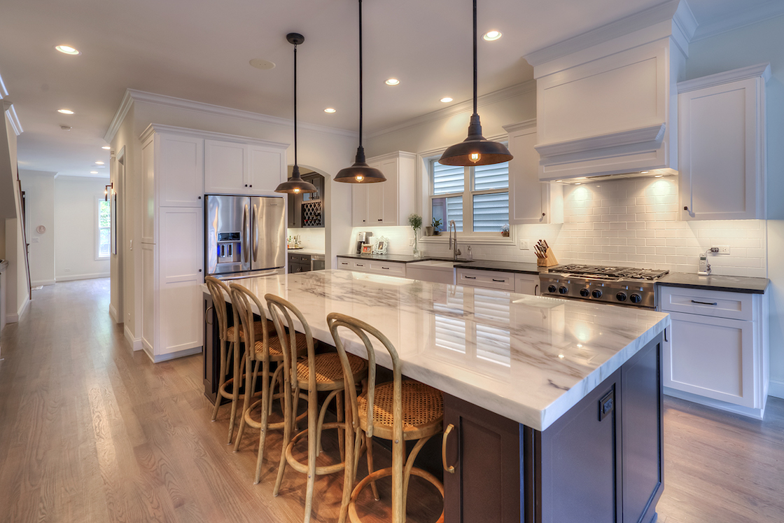 The Artesian Project | Black and white Kitchen
