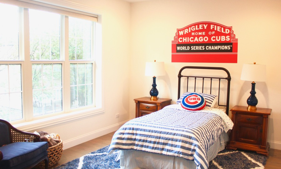 Little Boys Chicago Cubs Baseball Bedroom | The Artesian Project